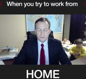 Work From Home With Childrens at Room